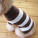 cheap Stuffed Animals-Cat Dog Sweater Dog Clothes Stripe Cotton Costume For Pets Men's Women's Keep Warm Fashion