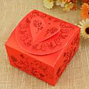 preiswerte Gastgeschenk Boxen & Verpackungen-Quader Kartonpapier Geschenke Halter mit Bänder Geschenkboxen