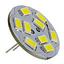 preiswerte LED Doppelsteckerlichter-2 W 6000 lm G4 LED Spot Lampen 9 LED-Perlen SMD 5730 Natürliches Weiß 12 V