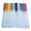 baratos Adesivos de Unhas-Arquivos de Nail Art & Buffers Blocos para Polir Estilo Mini Série Branca arte de unha Manicure e pedicure Vidro Simples