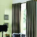 baratos Colares, Coleiras e Peitorais para Cães-(Dois painéis) modern marrom jacquard forrado cortinas