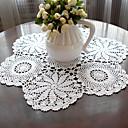tanie Obrusy-100% bawełna Zaokrąglony Podkładki Solidne kolory / Kwiaty Przyjazne dla środowiska Dekoracje stołowe 1 pcs