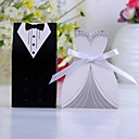 cheap Bottle Favors-Creative Card Paper Favor Holder with Ribbons Favor Boxes - 12