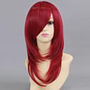 abordables Pelucas Cosplay-Cosplay Esther Blanchett Mujer 20 pulgada Fibra resistente al calor Rojo Animé Pelucas de Cosplay