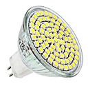 billige LED lyspærer-4W 300-350 lm E14 GU10 GU5.3(MR16) E26/E27 LED-spotlys MR16 80 leds SMD 3528 Varm hvid Naturlig hvid DC 12V AC 220-240V