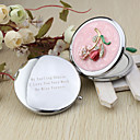 cheap Stickers, Labels & Tags-Wedding Anniversary Engagement Party Bridal Shower Birthday Party Bachelor's Party Chrome Compacts Floral Theme