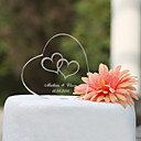 cheap Cake Toppers-Cake Topper Garden Theme Classic Theme Hearts Classic Couple Crystal Wedding Anniversary Bridal Shower with Gift Box