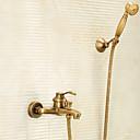 olcso Zuhany csaptelepek-Zuhany csaptelep - Antik Antik bronz Kifolyócső és zuhany Réz szelep