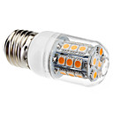 halpa LED-lamput-3W 450-550lm E26 / E27 LED-maissilamput T 27 LED-helmet SMD 5050 Lämmin valkoinen 220-240V