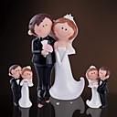 preiswerte Zeremonie Dekoration-Harz Hausdekor Bräutigam Trauzeuge Paar Eltern Hochzeit Jahrestag