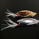 رخيصةأون طعم صيد الأسماك-1 pcs خدع الصيد طعم صيد جامد اهتزاز طعم معدن معدن الصيد البحري صيد الأسماك في المياه العذبة