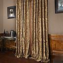 halpa Luxury Verhot-verhot Drapes Living Room Ylellisyys Polyesteri Jakardi
