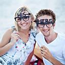 billige Bryllupsdekorationer-Bryllupsfest Hårdt Kortpapir Blandet Materiale Bryllup Dekorationer Klassisk Tema Vinter Forår Sommer Efterår Alle årstider
