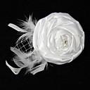 abordables Pines y Broches-Broche - Flor Elegante Broche Blanco Para Uso Diario