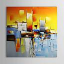 halpa Öljymaalaukset-Hang-Painted öljymaalaus Maalattu - Maisema Comtemporary Kangas