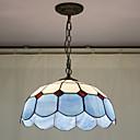 billige Hengelamper-Perler dekorasjon anheng, 2 Light, Tiffany Resin Glass Painting Processing