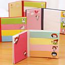 abordables Folios y Cuadernos-plegable múltiples formas nota autoadhesiva (color al azar)