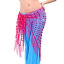 hesapli Göbek Dansı Giysileri-Göbek Dansı Kemer Kadın's Eğitim Polyester Püsküllü Göbek Dansı Kalça Atkısı / Balo Salonu