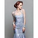 cheap Wedding Wraps-Long Sleeve Lace Wedding / Party Evening Women's Wrap With Lace Shrugs