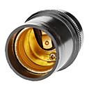 hesapli Lamba Bazları ve Konektörler-1pc E27 Aydınlatma aksesuar Işık soketi