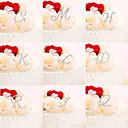 preiswerte Tortenfiguren & Dekoration-Tortenfiguren & Dekoration Klassisch Monogramm Acryl Hochzeit / Jahrestag / Geburtstag mit Strass PVC Tasche