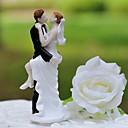 cheap Cake Toppers-Cake Topper Classic Theme Classic Couple Resin Wedding with Gift Box