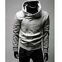 זול פיאות סינטטיות ללא כיסוי-אחיד Jacket hoodie שרוול ארוך מידות גדולות פעיל ספורט בגדי ריקוד גברים