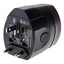cheap Smart Plug-World Travel Wall Plug Adapter With dual USB charging port power supply