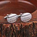 cheap Customized Apparel Accessories-Personalized Gift Cufflinks Metal Unisex Business Glam Modern Gift