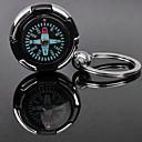 preiswerte Customized Schlüsselanhänger-Individuelle Gravur Geschenk Compass Shaped Liebhaber Schlüsselanhänger