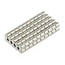 billige Magnetiske puslespil-100 pcs D3*3mm Magnetiske puslespil Byggeklodser / Puslespil Cube / Neodymmagnet Magnet Magnetisk Gave