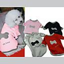 billige Trening, jogging og yogaklær-Hund Genser Hundeklær Knokle Svart Grå Rød Rosa Bomull Kostume For kjæledyr Herre Dame Fritid/hverdag
