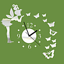 cheap Wall Stickers-Modern / Contemporary Indoor,AA Wall Clock
