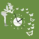 abordables Relojes de Pared Innovadores-moderno / contemporáneo de interior, aa reloj de pared