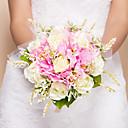 "baratos Bouquets de Noiva-Bouquets de Noiva Buquês Casamento Seda 11.02""(Aprox.28cm)"