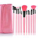 hesapli Makyaj Süngeri-12pcs Makyaj fırçaları Profesyonel Fırça Setleri Naylon Fırça / Sentetik Saç / Suni Fibre Fırça Bakterileri Kısıtlar Orta Fırça