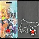 hesapli Anime Cosplay Aksesuarları-Mücevher Esinlenen Naruto Sasuke Uchiha Anime Cosplay Aksesuarları Kolyeler alaşım Erkek yeni sıcak