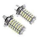 cheap Car Headlights-H7 Car Light Bulbs 6 W SMD 3528 1200 lm LED Fog Light