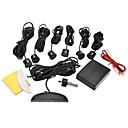 baratos Câmeras de Ré para Carros-DYW-L061 0.6 polegadas LED Digital Display Sensor de estacionamento com seis Sondas - Preto