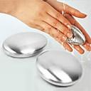 hesapli Depolama ve Düzenleme-Sabun paslanmaz çelik sabun el koku sökücü bar sihirli sabun sarımsak soğan kokuları ortadan kaldırır