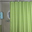 hesapli Duş Perdeleri-Duş Perdeleri Modern Polyester Yuvarlak Noktalı Makine Yapımı