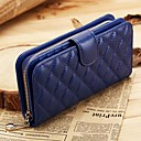 cheap Wallets-Women's Bags Sheepskin Wallet for Event / Party / Sports / Formal Black / Blue / Pink
