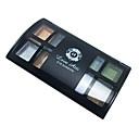 billige Øjenskygger-8 farver Øjenskygger / Pudder Øjne Naturlig Daglig makeup / Rygende makeup Makeup Kosmetiske
