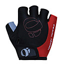 cheap Cycling Pants, Shorts, Tights-KORAMAN Bike Gloves / Cycling Gloves Mountain Bike Gloves Breathable Padded Anti-Slip Shockproof Half Finger Sports Gloves Silica Gel Black for Adults' Outdoor