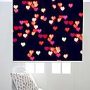 זול לוכד חלומות-Dreamlike Flying Colorful Heart Roller Shade
