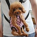 abordables Básicos de Viaje para Perros-Gato Perro Transportines y Mochilas de Viaje Frente Mochila Mascotas Cubiertas Portátil Lazo Rosa Para mascotas