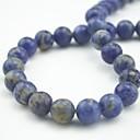 cheap Kitchen Tools-DIY Jewelry pcs Beads kits Semi-Precious Stone Blue Bead 1 cm DIY Necklace Bracelet