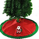 cheap Christmas Decorations-1set Santa Tree Skirts Christmas Novelty Party, Holiday Decorations Holiday Ornaments