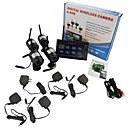 "cheap USB Hubs & Switches-7"" LCD Wireless  Monitor 4 Channel Quad Security System DVR With 4 Cameras"