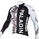 cheap Cycling Jackets-ILPALADINO Men's Long Sleeve Cycling Jersey Skull Bike Jersey, Quick Dry, Ultraviolet Resistant, Breathable